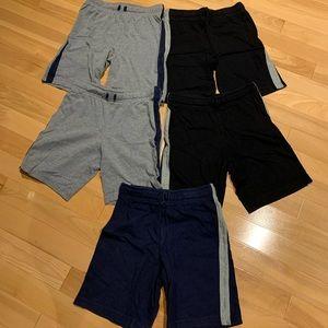 5 pairs Children's Place Boys Active shorts-sz 7/8
